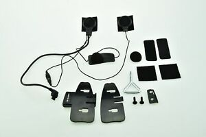 Interphone bluetooth full face headset kit