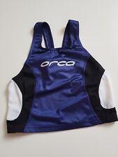 Orca Mens Elite Triathlon Blue White Tri Run Bike Swim Singlet M203B Large