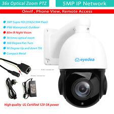 4'' 5Mp Ip Network 36x Zoom Ptz Onvif Waterproof 100m Ir Cctv Security Camera