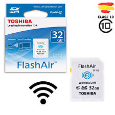 TARJETA MEMORIA 32GB TOSHIBA WIFI SD HC USB 32 GB ORIGINAL SDHC CAMARA FlashAir