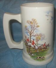 Fox Hunt Hunting Large Mug Stein