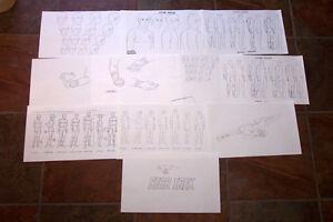 STAR TREK The Animated Series ANIMATORS' MODEL SHEETS Art Reference Guide