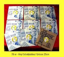 9 x 10inch Vinyl 78er GLENN MILLER Radio Releases Raritäten!!!