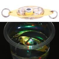 LED Fish Lure Light Deep Drop Underwater Eye Shape Fishing Squid Flashing Lamp