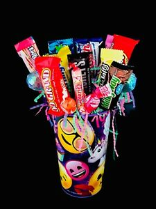 Candy Bouquet For Child Girl Gift Arrangement Get Well Birthday Gift