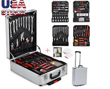 799 PCS Tool Set Mechanics Tool Kit Wrenches Socket w/Trolley Case Box Organize