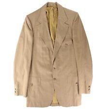 Vintage Men's Bespoke Norfolk 70's Sport Coat Jacket Blazer Size 46 Long
