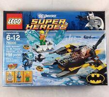 Lego Arctic Batman vs Mr Freeze Aquaman on Ice 76000 DC Super Heroes Retired NIB