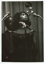 Rare 5 Photos Sugar Pie Desanto - 1964 Folk Blues Festival - Tirages d'époque -