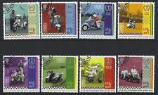 ISLE OF MAN 2018 SCOOTERS FINE USED SET OF 8
