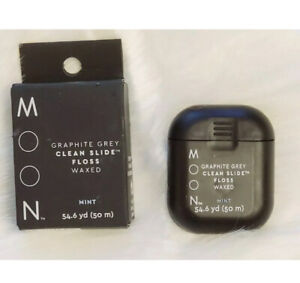 Moon Graphite Grey Clean Slide Floss, Mint-54yd  ** 2 Pack**  Free Shipping