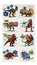 8 Jurassic World Tattoos (1 Sheet, 8 Perforations)