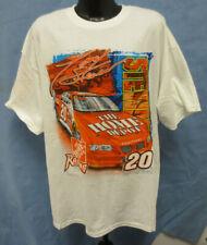 TONY STEWART BOBBY LABONTE XL SHIRT 4 SIDED PRINTED NASCAR MENS VINTAGE RETRO