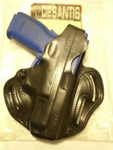 "001-88 DeSANTIS CCW 3-Slot Gun Holster for SPRINGFIELD ARMORY XD9 XD40 4"""