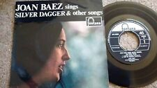 JOAN BAEZ SINGS SILVER DAGGER & OTHER SONGS OG FONTANA MONO + PICTURE SLEEVE