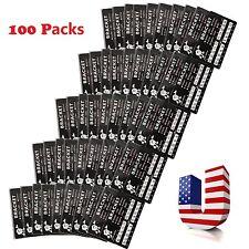 100 Pack Metal Ortho Orthodontics Brackets Braces Mini Roth 022 Slot 3 Hooks MP