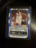 2020-2021 Panini Contenders Draft Picks Zion Williamson Prospect Ticket