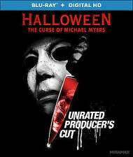 Halloween: The Curse of Michael Myers (Blu-ray Disc, 2015; Unrated Producers Cut