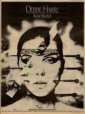 Debbie Harry Blondie UK KooKoo LP advert 1981 MM-DFEW