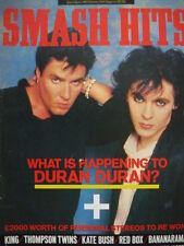 SMASH HITS 28/8/85 - DURAN DURAN - DAVID BOWIE - KATE BUSH