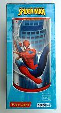 Lampada Spiderman da tavolo con filo e portalampada interruttore e lampadina
