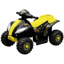 vidaXL Kinderquad 6 V Geel Speelgoed Kinder Quad Motor Loopfiets Buiten Rijden