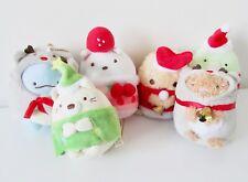 Sumikko Gurashi Christmas lizard bear cat penguin cutlet plush toys with chain