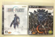 LOST PLANET 2 + LOST PLANET Extreme Condition PS3 BULK of 2 JAPANESE version VGC