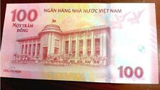 Vietnam fancy: Lucky number Nh00888x Commemorative 100 Dong Unc with Folder