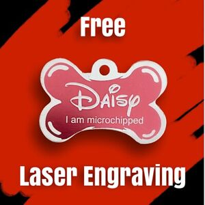 Dog Tag. Cat Tag. Pet ID. Metal Tag. Laser Engrave. Both Sides. AU Free Postage.