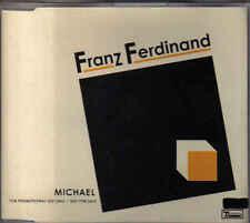 Franz Ferdinand-Michael Promo cd single