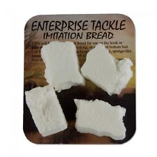 ENTERPRISE TACKLE IMITATION WHITE BREAD 4pcs FOR CARP / COARSE FISHING