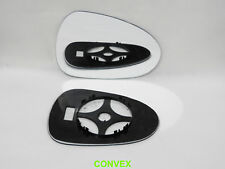 Right Side Convex Wing Mirror Glass for Seat Leon 2009-2012 + Back plate #TV009