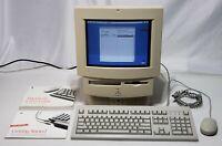 Rare Vintage Apple Macintosh Performa 550 LC550 MFD 1994 w/ Games & Software