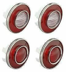 1975 - 1979 Corvette Tail Lights and Backup Lights Reproduction Light Set C3 NEW