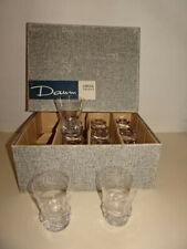 DAUM.Sorcy.12 verres a VIN EN CRISTAL,en coffret d'origine.