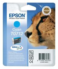 EPSON T0712 TINTE PATRONEN DX6000 DX6050 DX7000F DX7400 DX7450 DX8400 D92