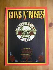 GUNS N' ROSES - SWEET CHILD O' MINE - ADVERT - 21 x 29.5cm.