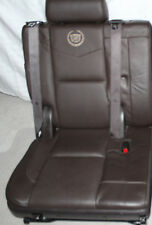 07-14 Escalade 3rd Third Row Seat PLATINUM Edition COCOA Perforated 2007 - 2014