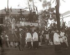 1920 1930 - Indochine Cambodge Laos - Photographie Plaque de verre Stereo 6x13cm
