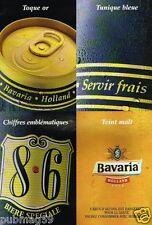 Publicité advertising 2000 La Bière bavaria Holland beer