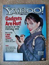 YAHOO! INTERNET LIFE MAGAZINE FEBRUARY 2001 MONICA LEWINSKI COVER
