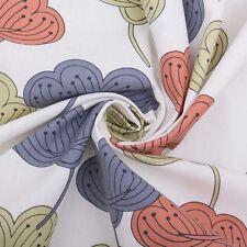 Portobello Tapicería Rango 100% Algoón Floral Patrones Cuatro Diseños
