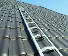 Dachleiter Alu Dachdecker Auflegeleiter 6,51m frei Haus