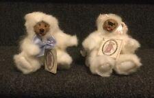 Kimbearly's Originals Teddy Bear By Kimberly Hunt Mini Mikey & Mini Riley Nwt