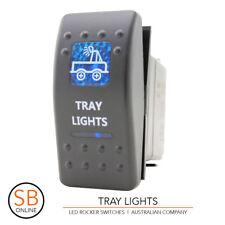 Rocker Switch TRAY LIGHTS - Blue ARB Carling Narva - 4x4 LED Boat Caravan