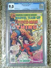 Marvel Team-Up #47 CGC 9.0  Thing Team Up, Basilisk App 7/76  FREE SHIPPING !!!!