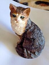 Collectible Long Hair Animal Cat Figurine