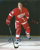 JOAKIM ANDERSSON signed 8x10 photo DETROIT RED WINGS