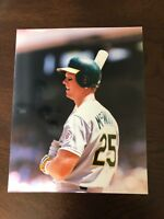 1988 Mark McGwire Oakland Athletics 8 x 10 Photo